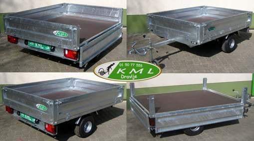 Avto prikolice - Prikolice za avto - Avtomobilske prikolice - KML